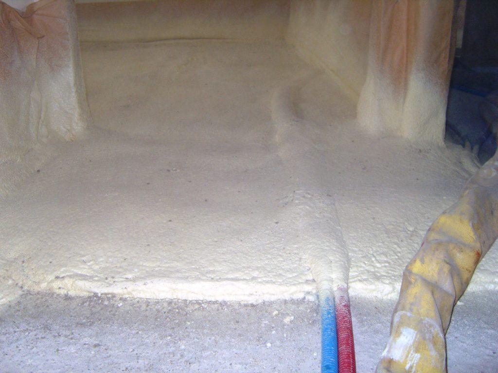 Isolation sol et chape cabinet de maitrise d 39 oeuvre c - Mousse polyurethane solide ...