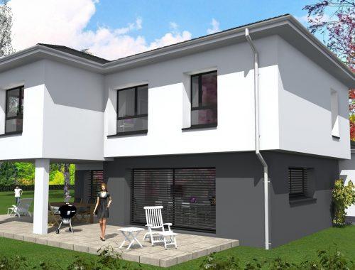 Maison c² multi-pans sur Hundsbach 5