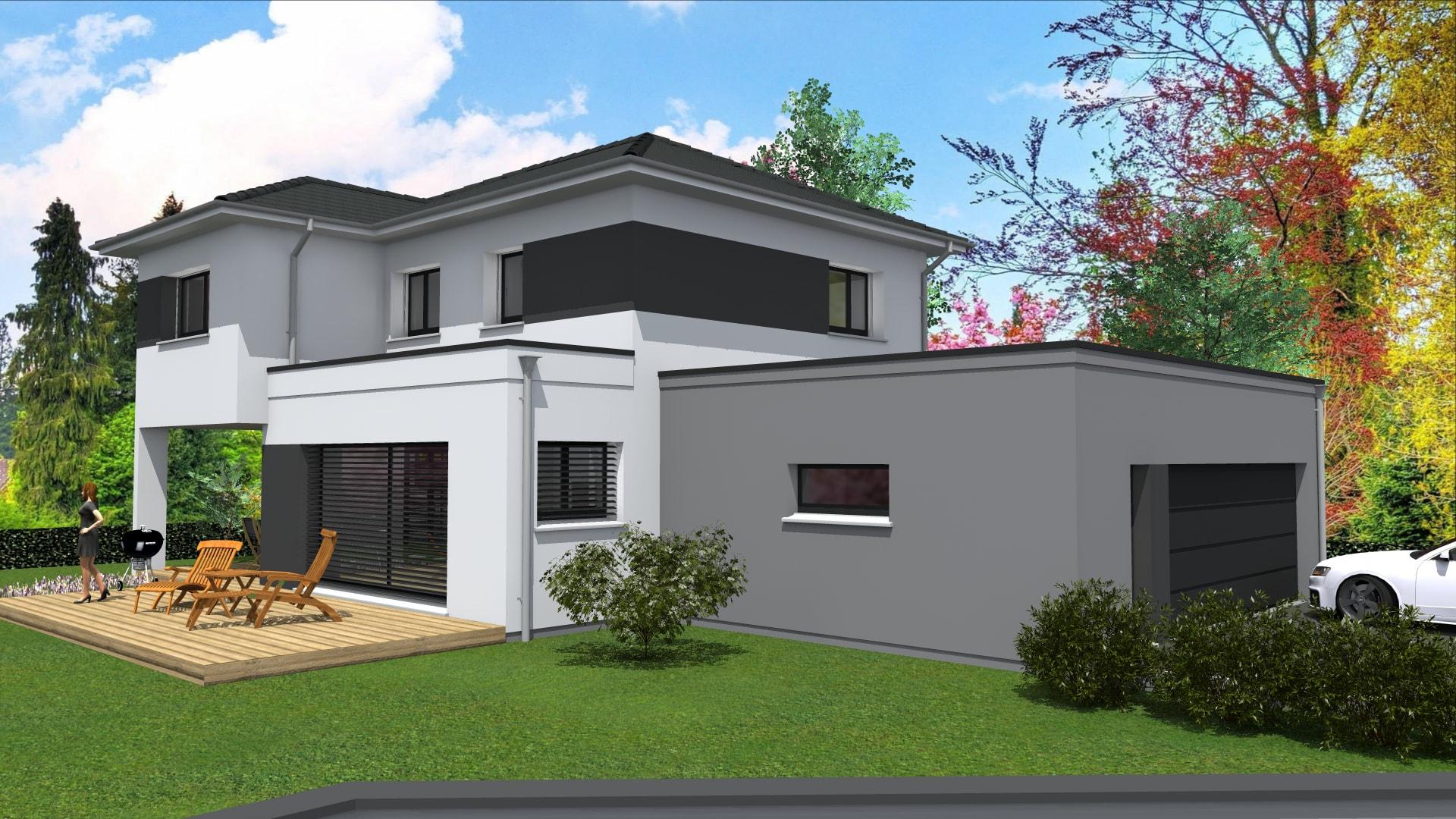 Maison architecte haut rhin maison moderne for Constructeur maison contemporaine haut rhin