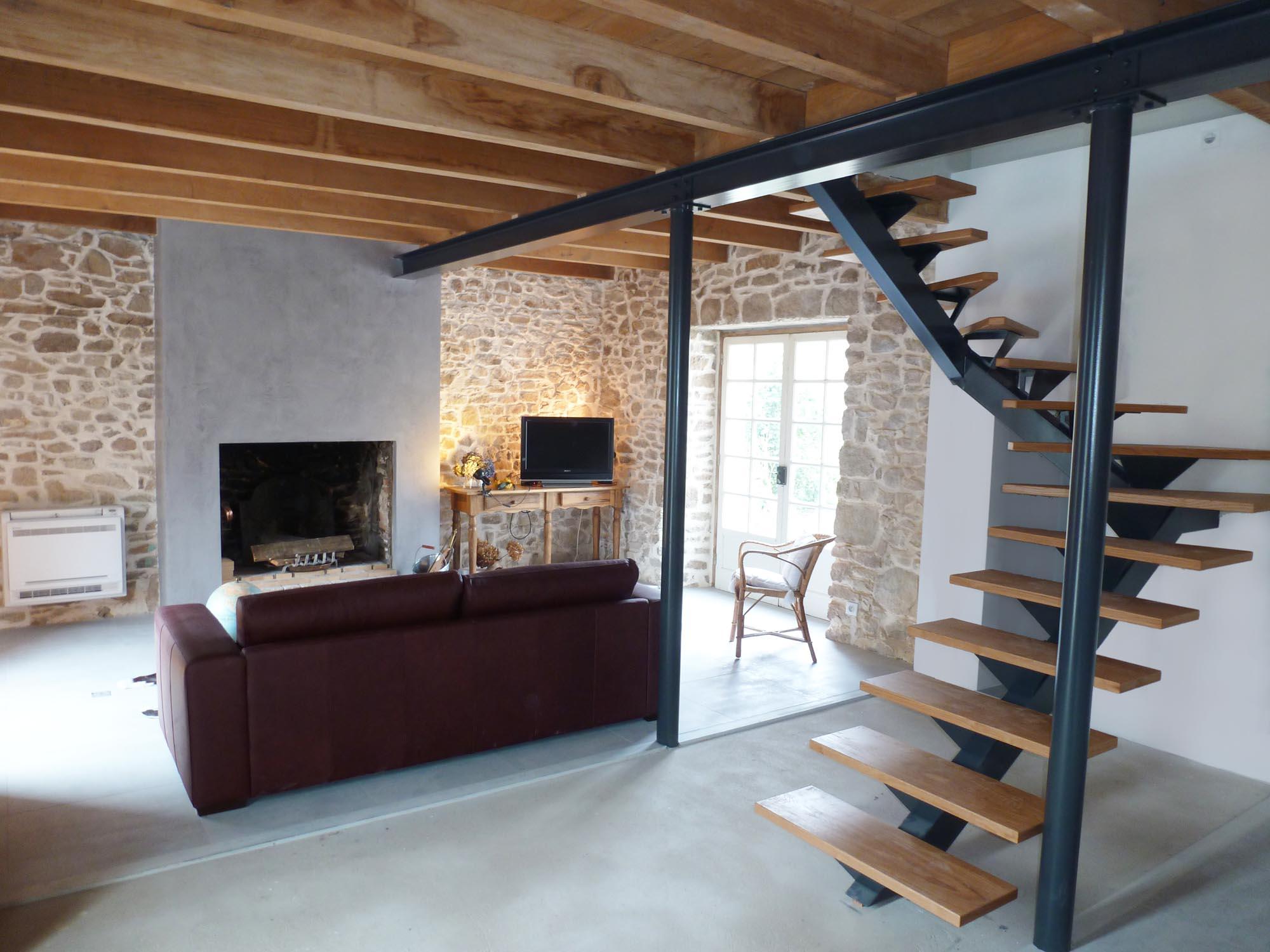 Rénover Une Maison Alsacienne cabinet de maitrise d'oeuvre c² - cmoc2